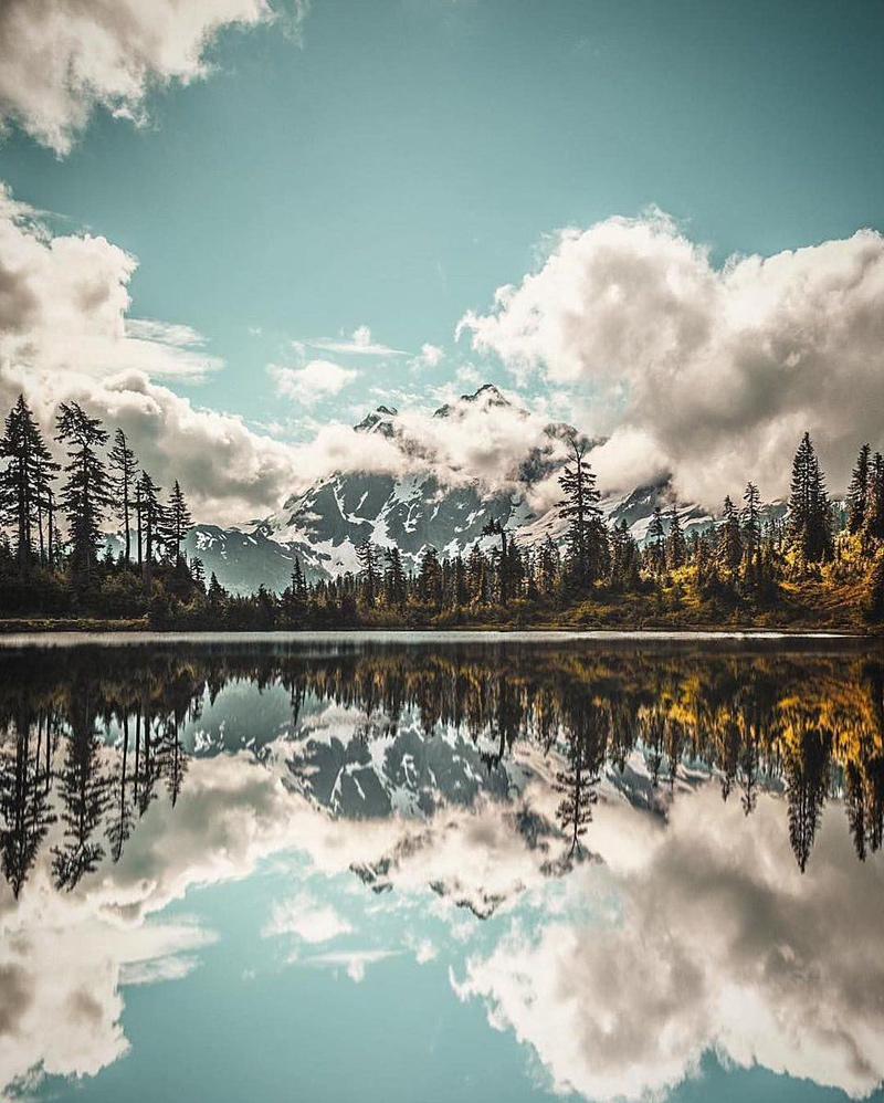 Image Lake, lac dans l'État de Washington