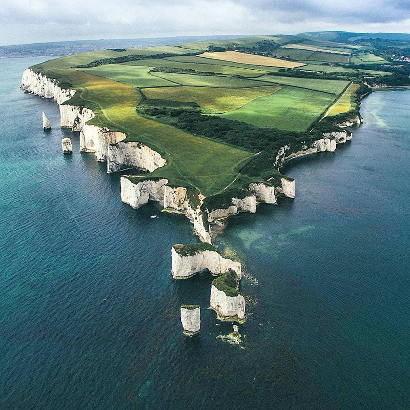 Littoral majestueux du Dorset