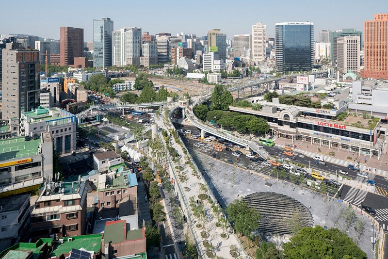 Skygarden à Séoul