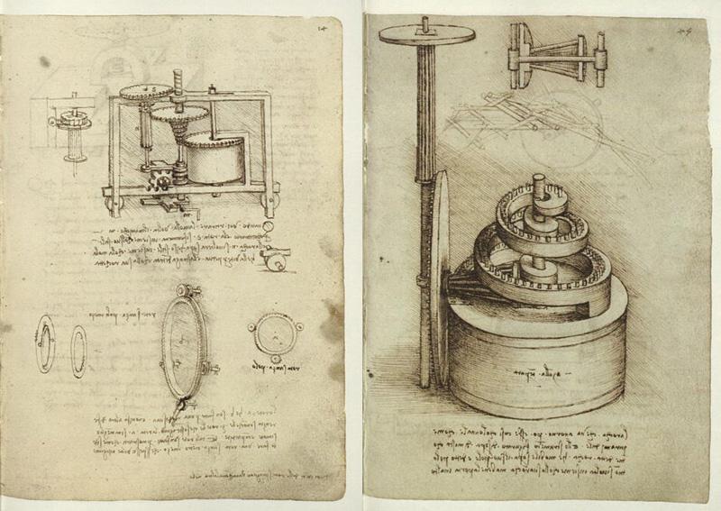 machine de Léonard de Vinci