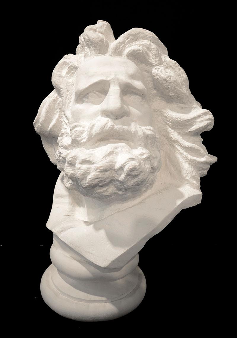 Sculpture malléable en papier de Li Hongbo