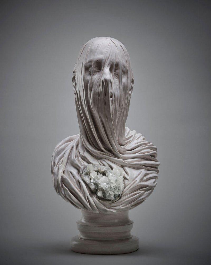 buste de marbre de Livio Scarpella