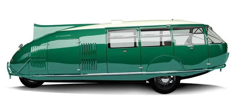 Dymaxion, prototype d'une voiture révolutionnaire