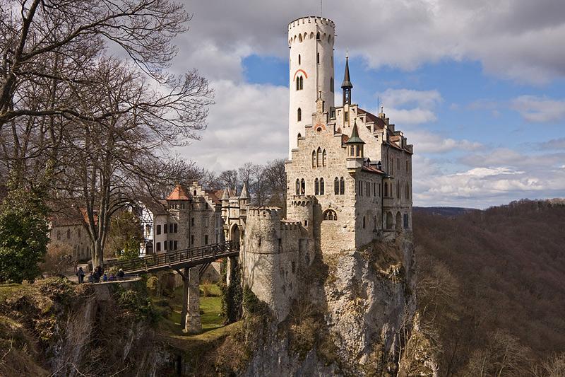 Château de Lichtenstein en Allemagne