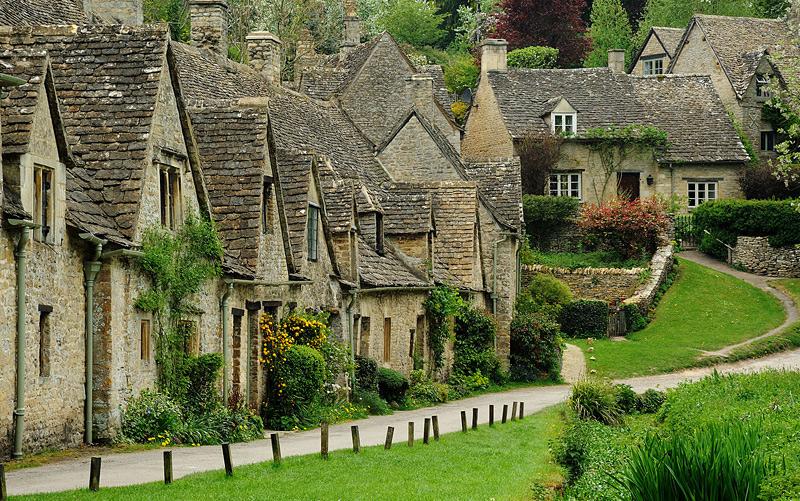 Bibury, village anglais