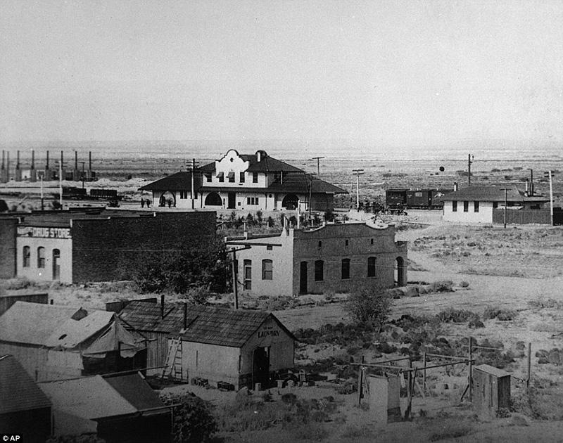 Las Vegas en 1906