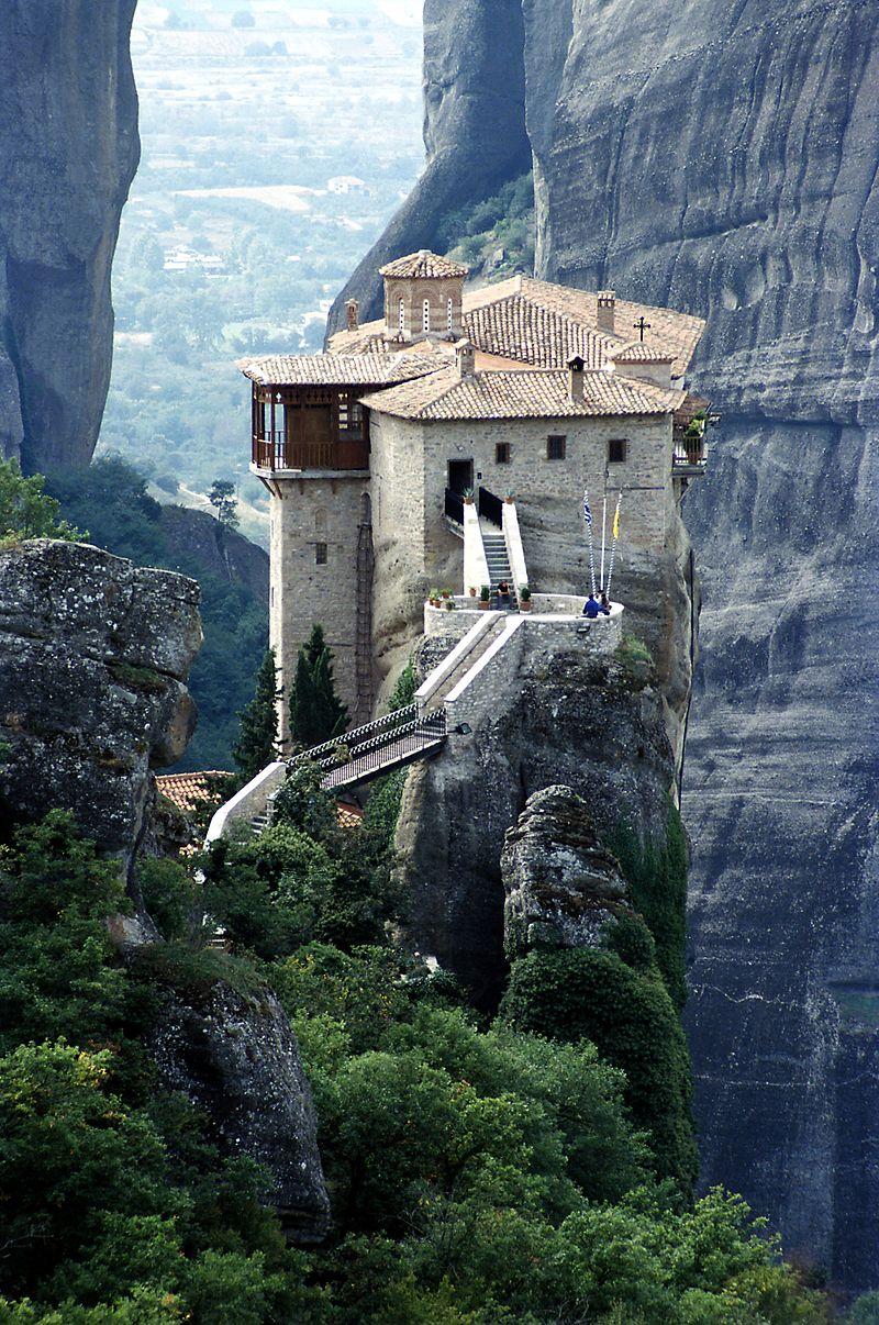 Monastères des Météores en Grèce