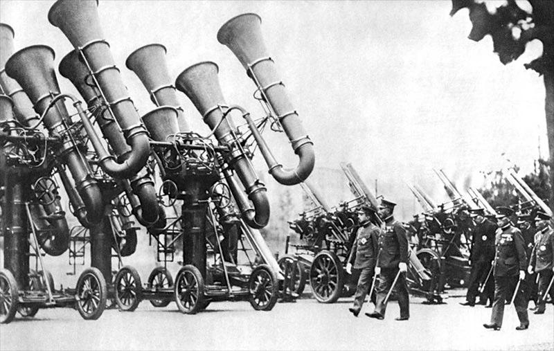Système d'écoutes militaires des années 1920-1940