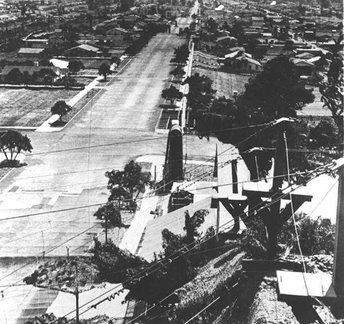 Camouflage d'une base militaire américaine lors de la Seconde Guerre mondiale