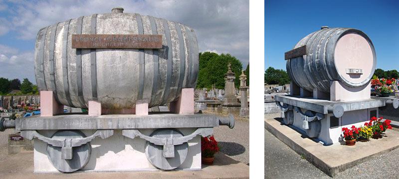 tombe de Léonce Charbernaud