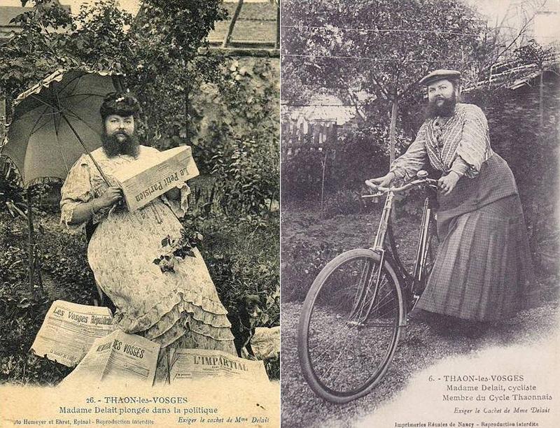 Clémentine Delait, la femme à barbe
