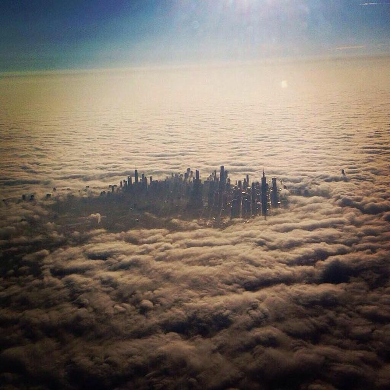 Chicago dans les nuages