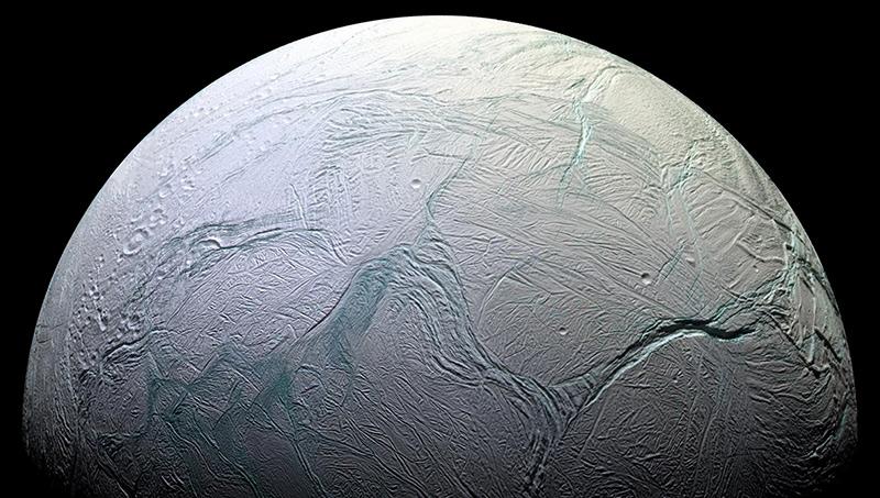 Encelade, lune de Saturne