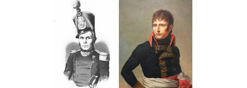 Jean-Alexandre Coluche et Napoléon Ier