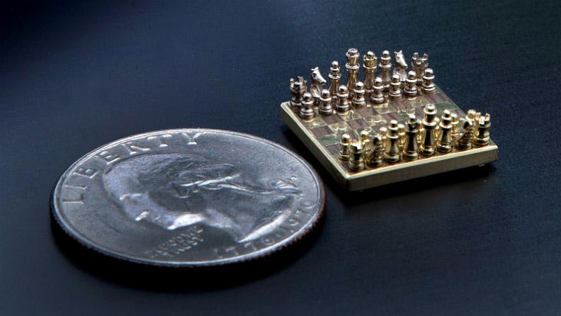 plus petit jeu d'échec du monde