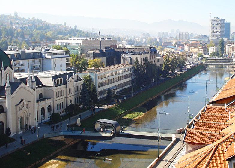 pont looping à Sarajevo