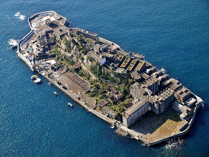 Hashima, île au Japon