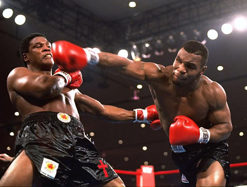 Mike Tyson boxeur ko