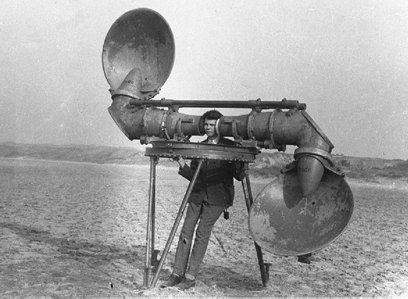 système d'écoute années 1920