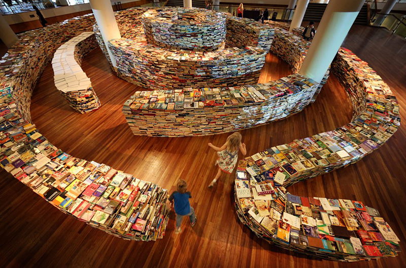 labyrinthe de livres