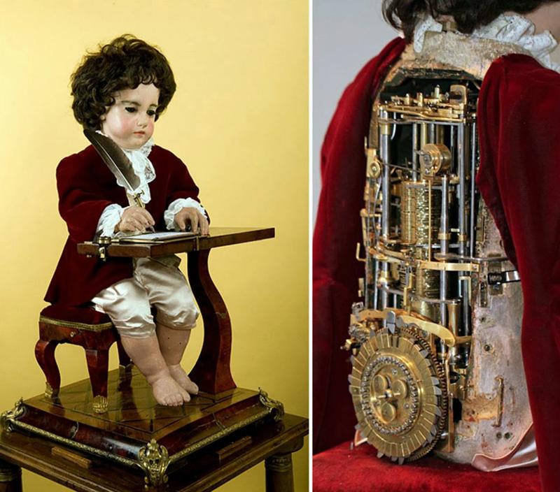 automate écrivain de 240 ans