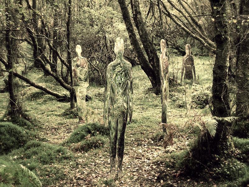 sculpture miroir