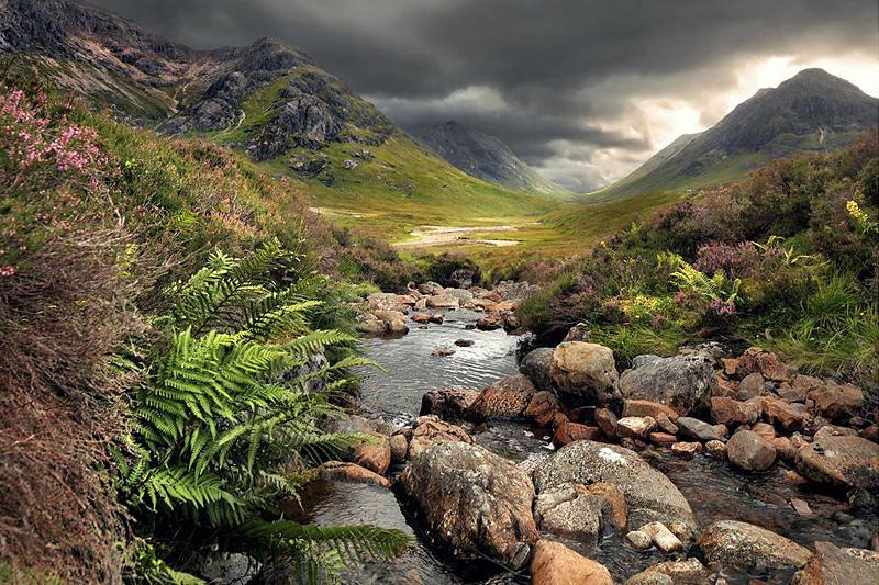 paysage d'Ecosse