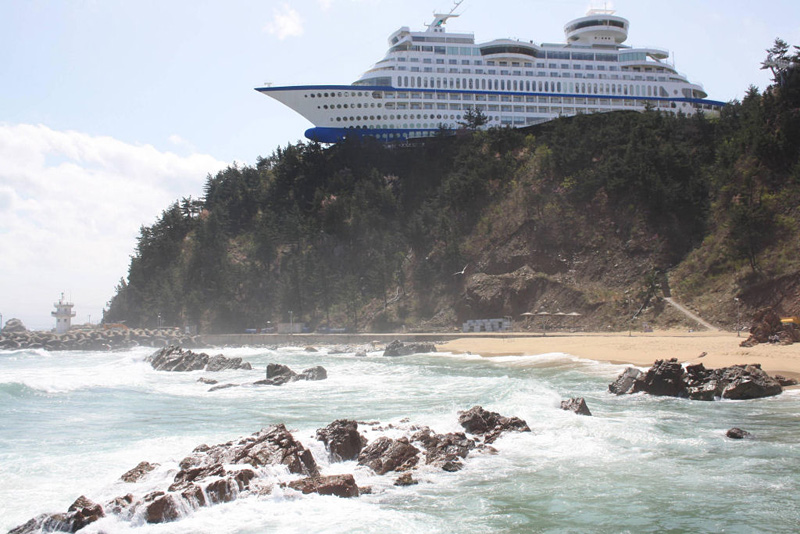 Cruise hôtel en Corée du Sud
