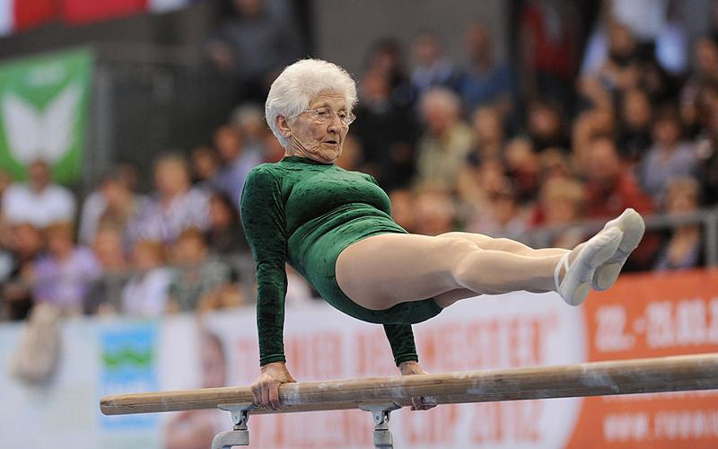 Johanna Quaas, gymnaste la plus âgée du monde