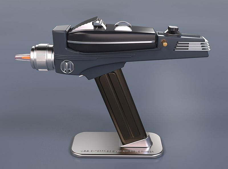 télécommande phaser Star Trek