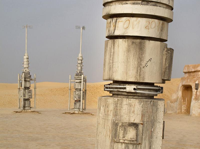 décors abandonnés de Star Wars en Tunisie