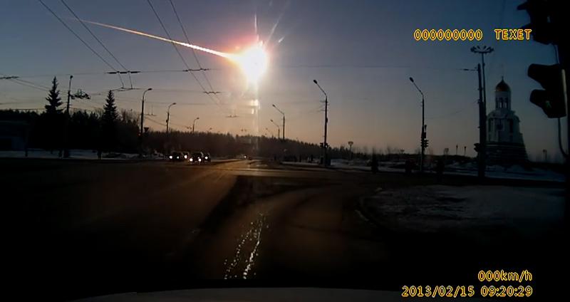 Un météore traverse le ciel de Russie