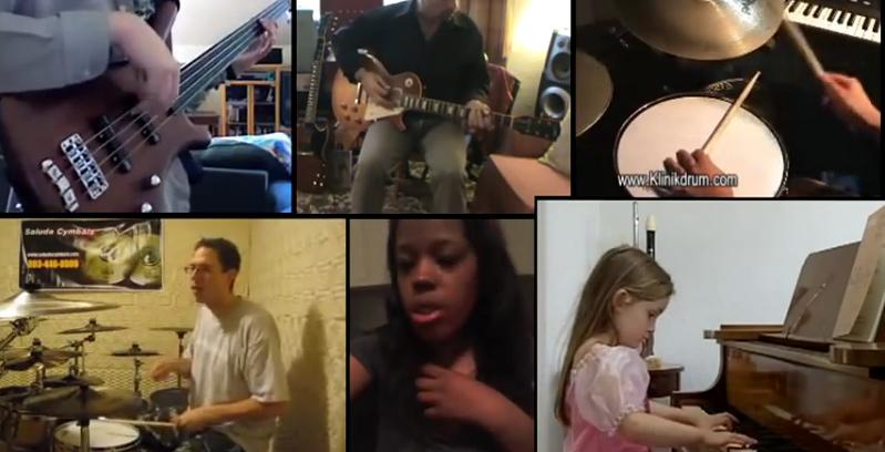 Clips vidéos assemblés en une chanson par Kutiman