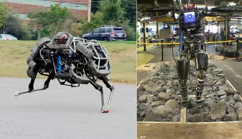 Les robots évolués de Boston Dynamics