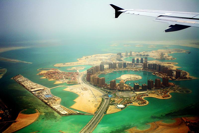 Le monde vu au travers d'une fenêtre d'avion