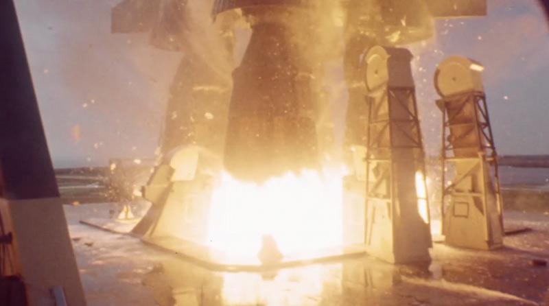 décollage fusée Saturne V, mission Apollo