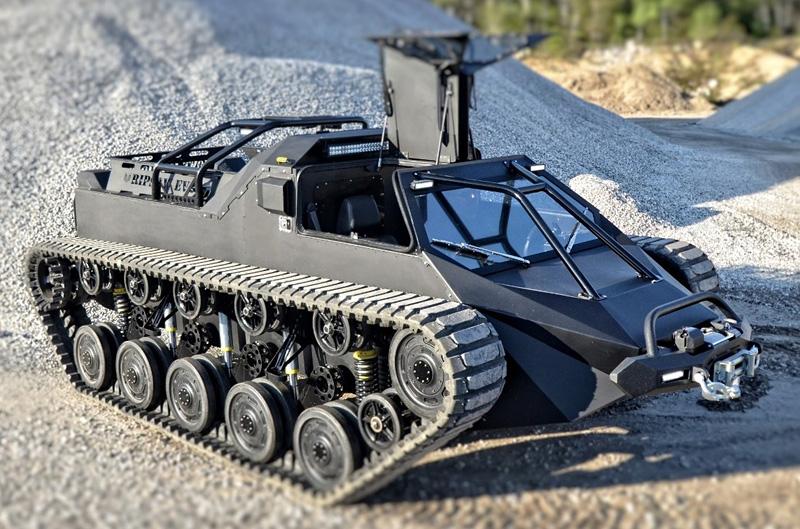 Ripsaw EV2 Extreme, tank de luxe