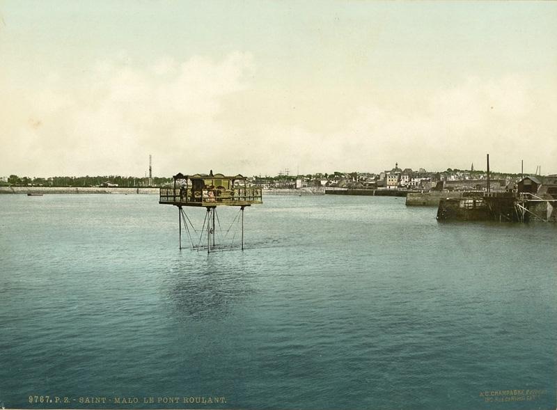 Le pont-roulant de Saint-Malo