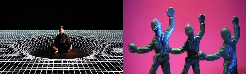danse numérique Pixel et chorégraphie pour soldats en plastique